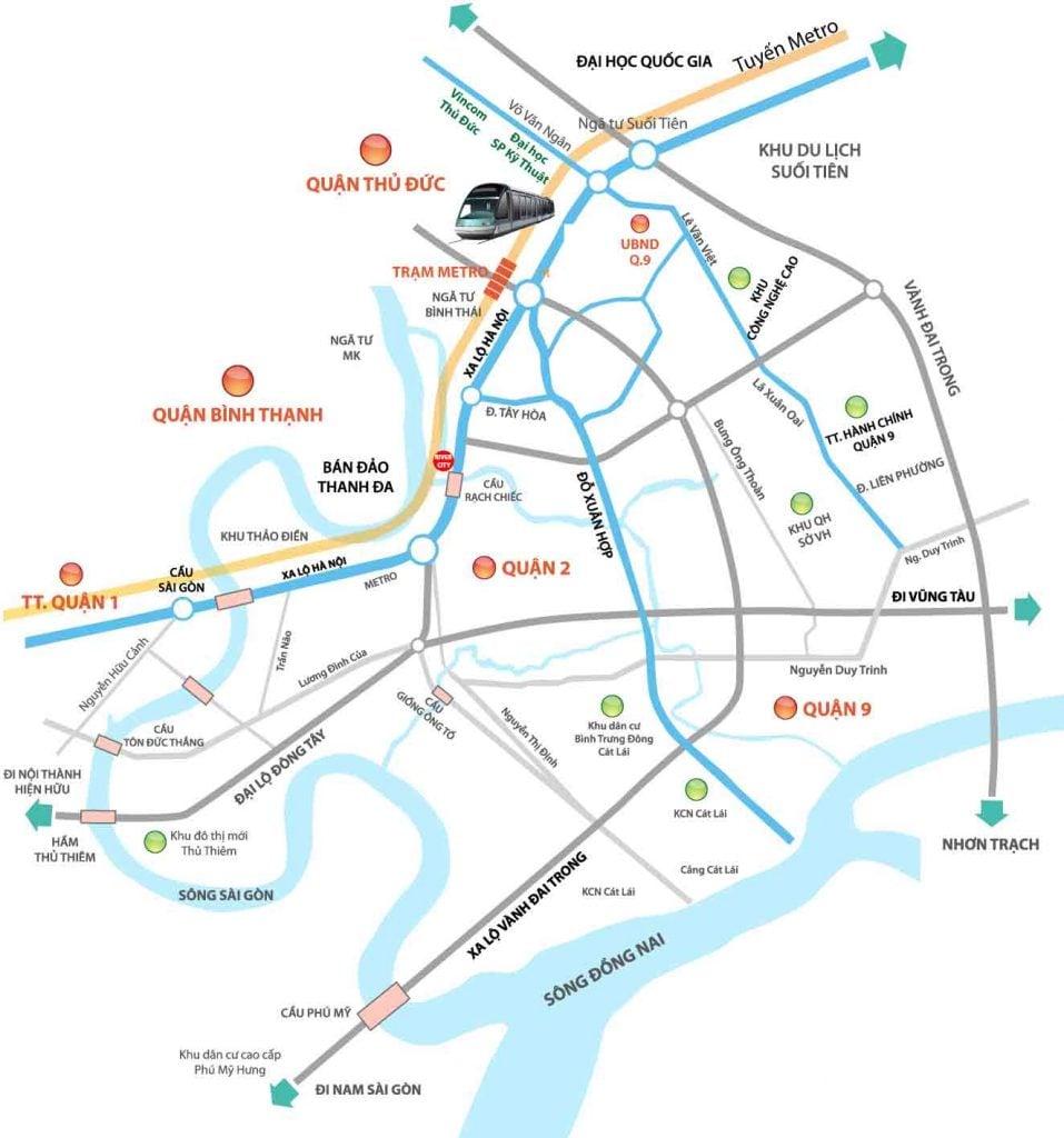 Vị trí căn hộ River City nằm ở đâu?