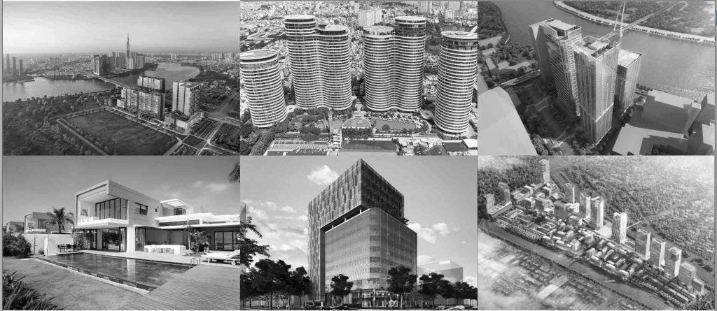 Các dự án bất động sản tiêu biểu của Refico