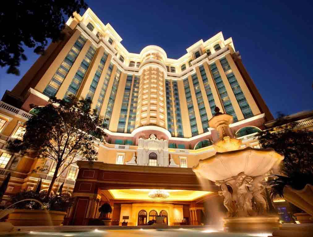 Mặt ngoài của khu Khách sạn Four Seasons Macao