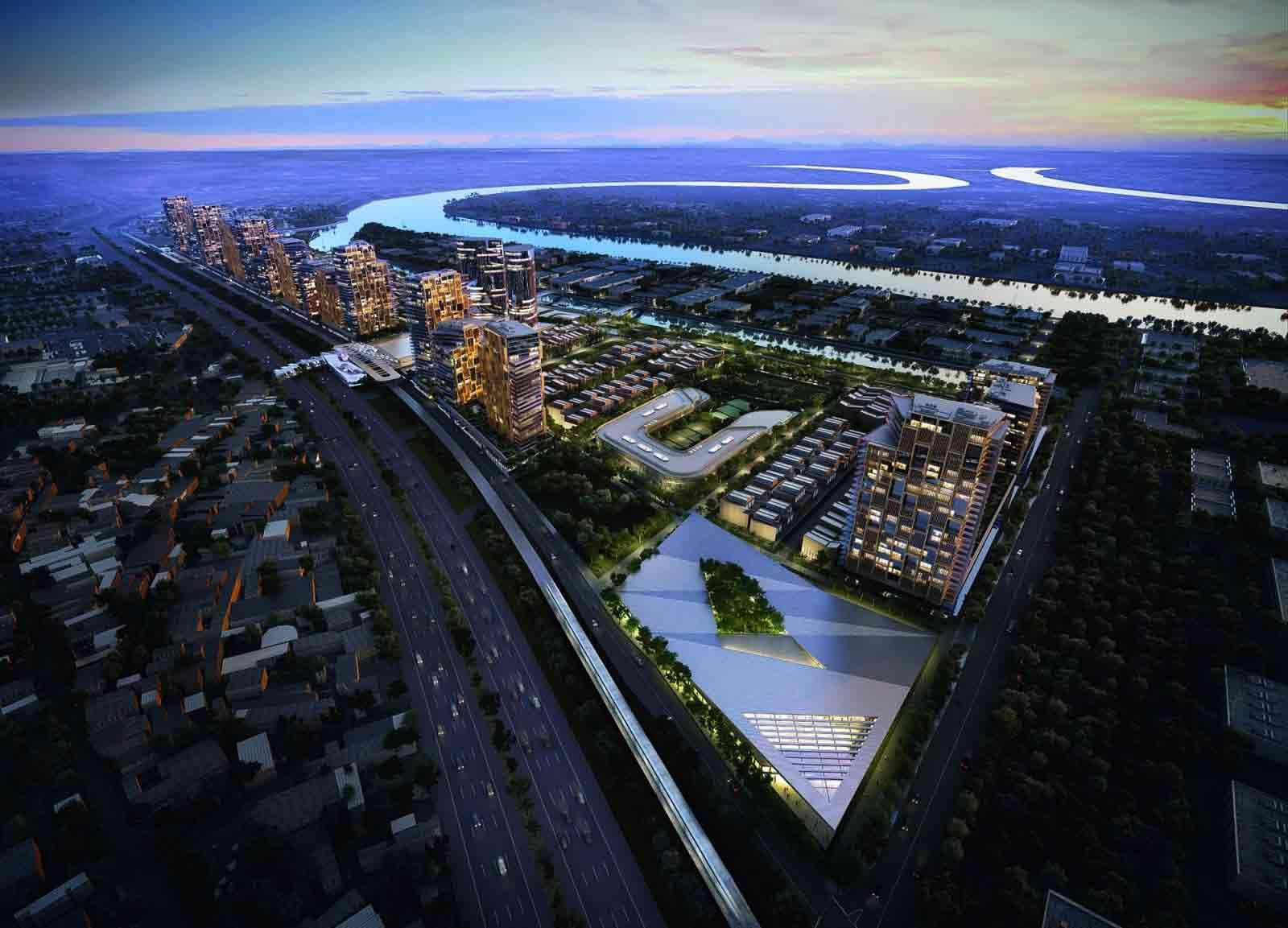 Mặt bằng dự án Saigon Quays